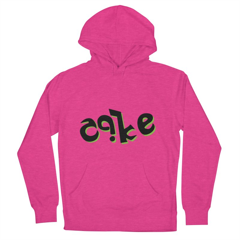 The Cake is Not True Men's French Terry Pullover Hoody by Ambivalentine's Shop