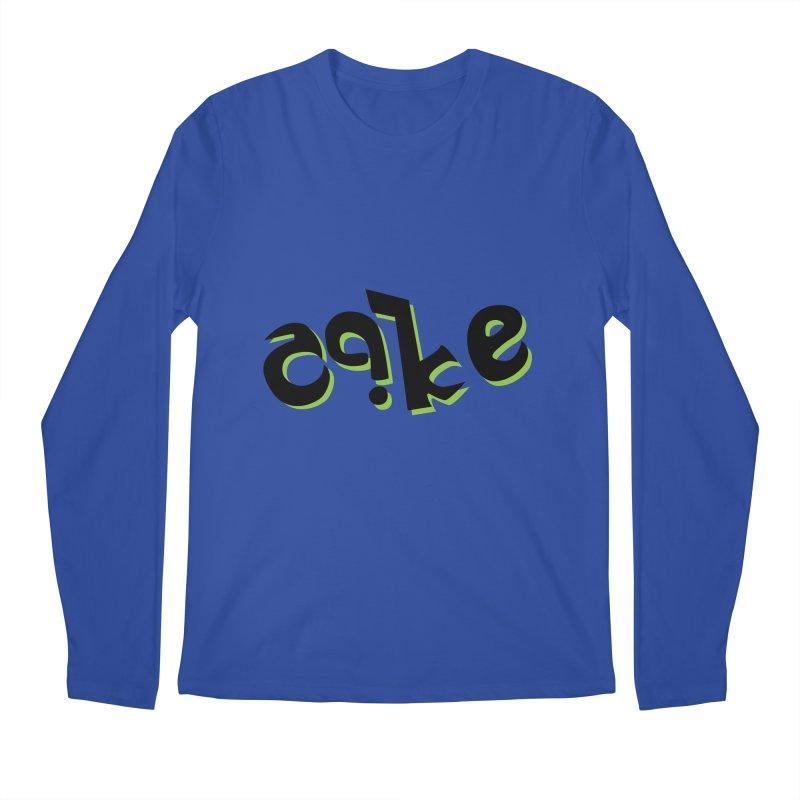 The Cake is Not True Men's Regular Longsleeve T-Shirt by Ambivalentine's Shop