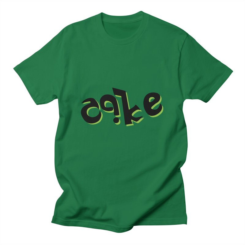 The Cake is Not True Men's T-shirt by Ambivalentine's Shop