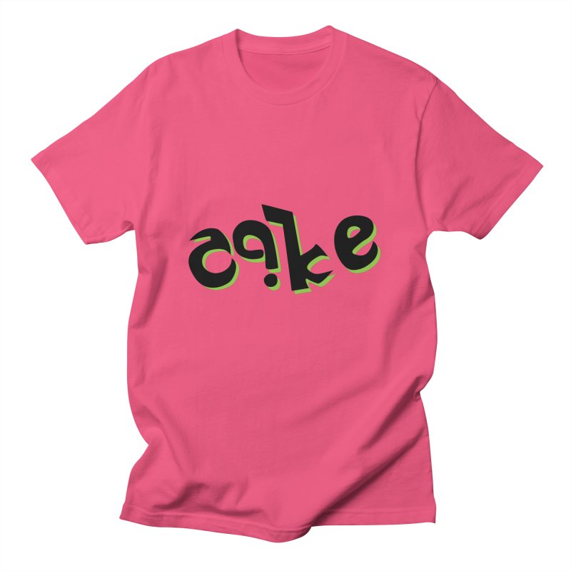 The Cake is Not True Men's Regular T-Shirt by Ambivalentine's Shop