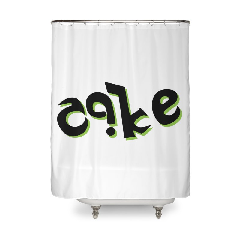 The Cake is Not True Home Shower Curtain by Ambivalentine's Shop