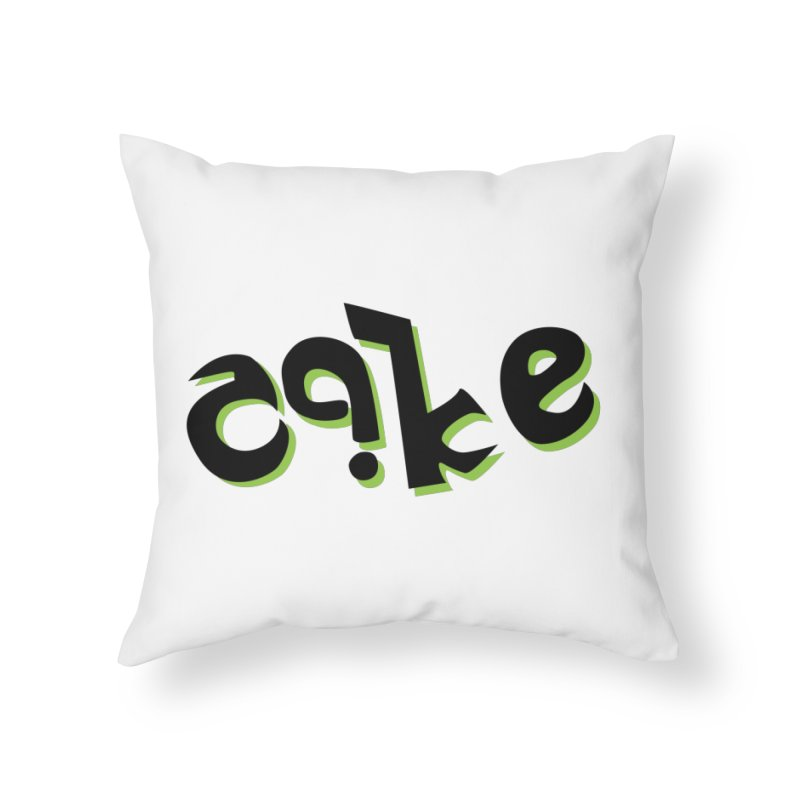 The Cake is Not True Home Throw Pillow by Ambivalentine's Shop