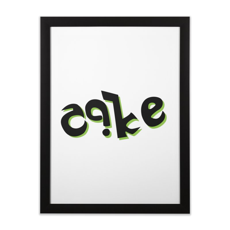 The Cake is Not True Home Framed Fine Art Print by Ambivalentine's Shop