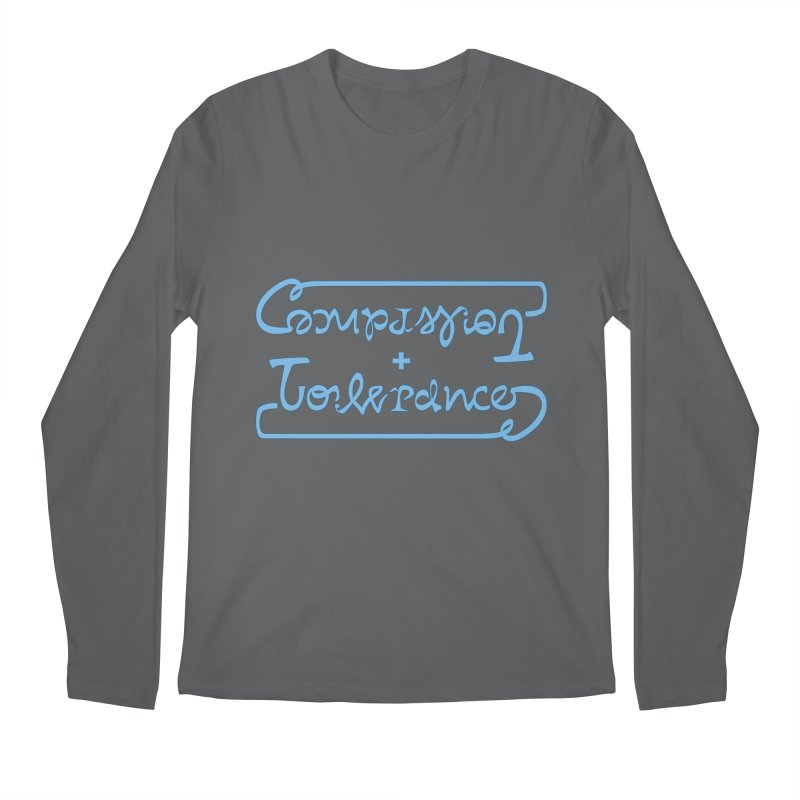 Compassion + Tolerance Men's Longsleeve T-Shirt by Ambivalentine's Shop