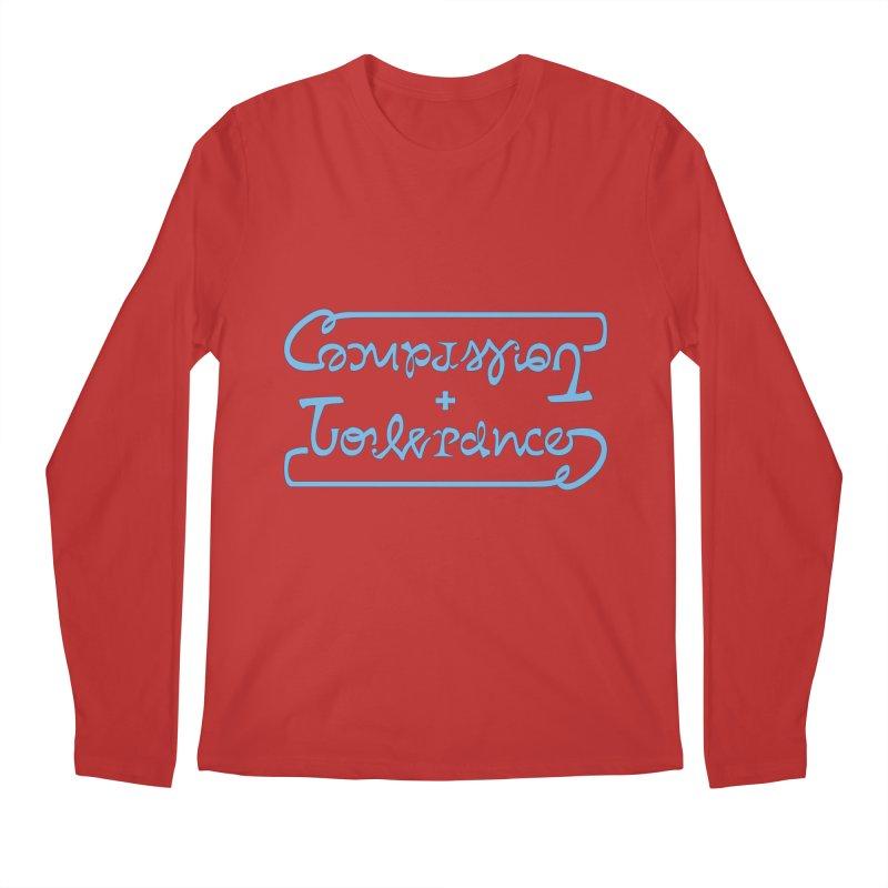 Compassion + Tolerance Men's Regular Longsleeve T-Shirt by Ambivalentine's Shop