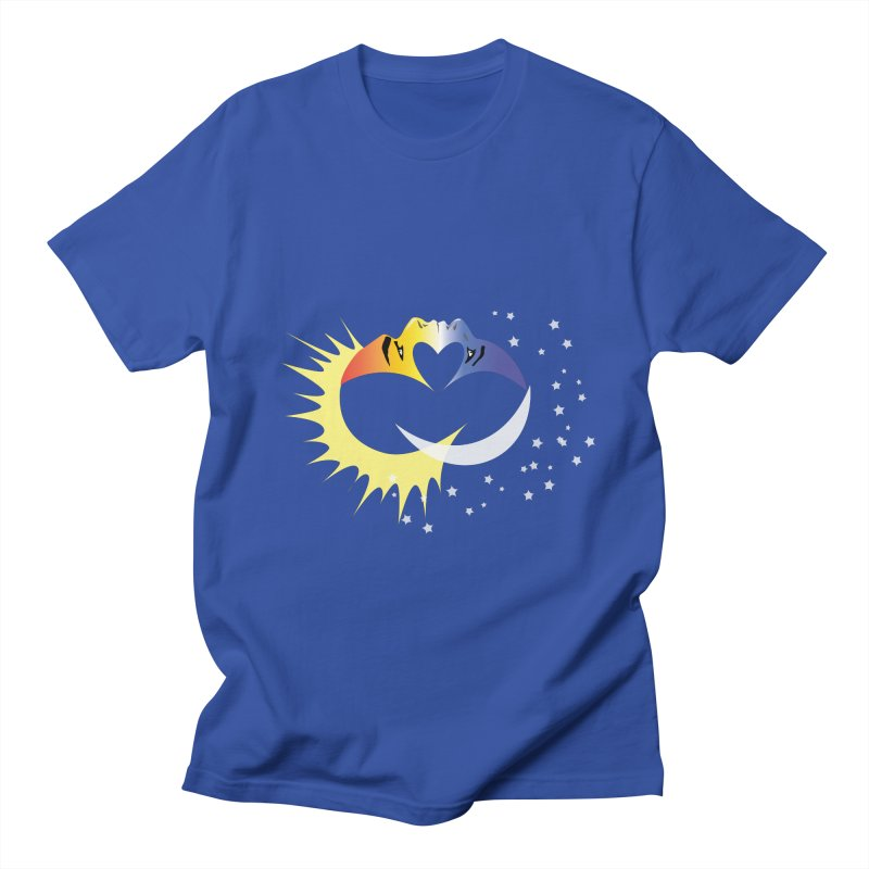 Sun Moon Love People Women's Unisex T-Shirt by Ambivalentine's Shop