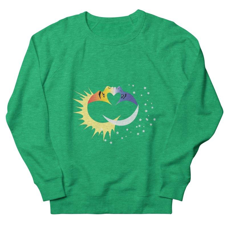 Sun Moon Love People Women's Sweatshirt by Ambivalentine's Shop