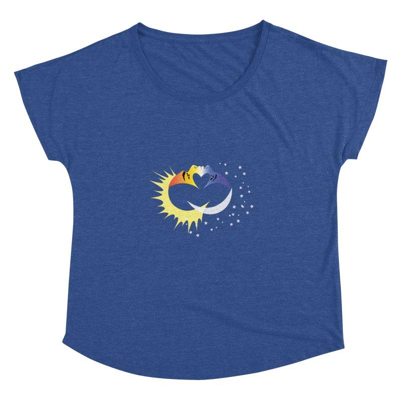 Sun Moon Love People Women's Dolman by Ambivalentine's Shop