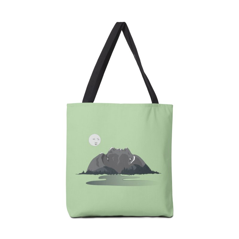 Mountain Faces Accessories Beach Towel by Ambivalentine's Shop