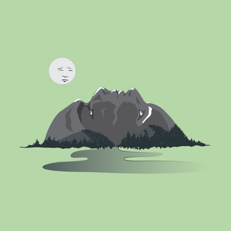 Mountain Faces None  by Ambivalentine's Shop