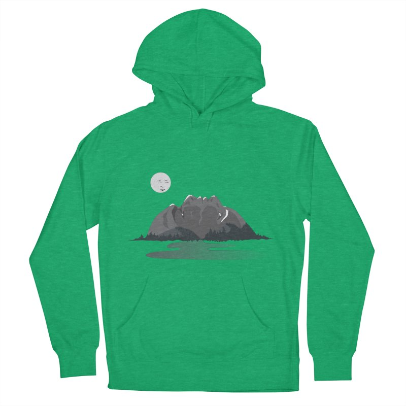 Mountain Faces Women's Pullover Hoody by Ambivalentine's Shop