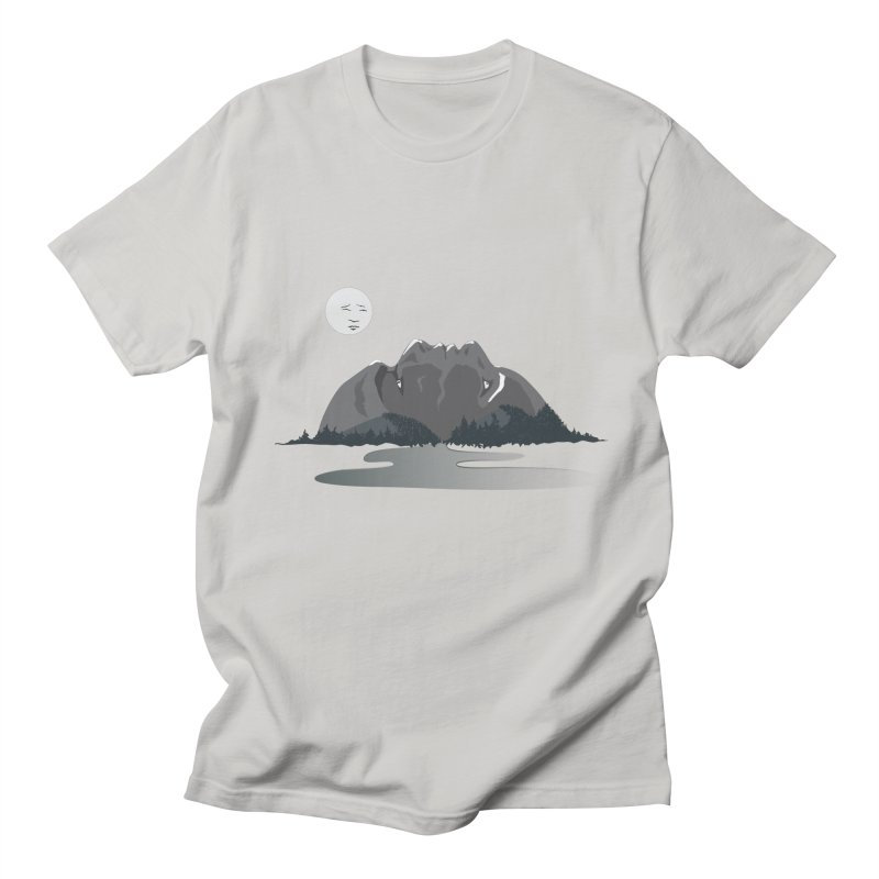 Mountain Faces Women's Unisex T-Shirt by Ambivalentine's Shop