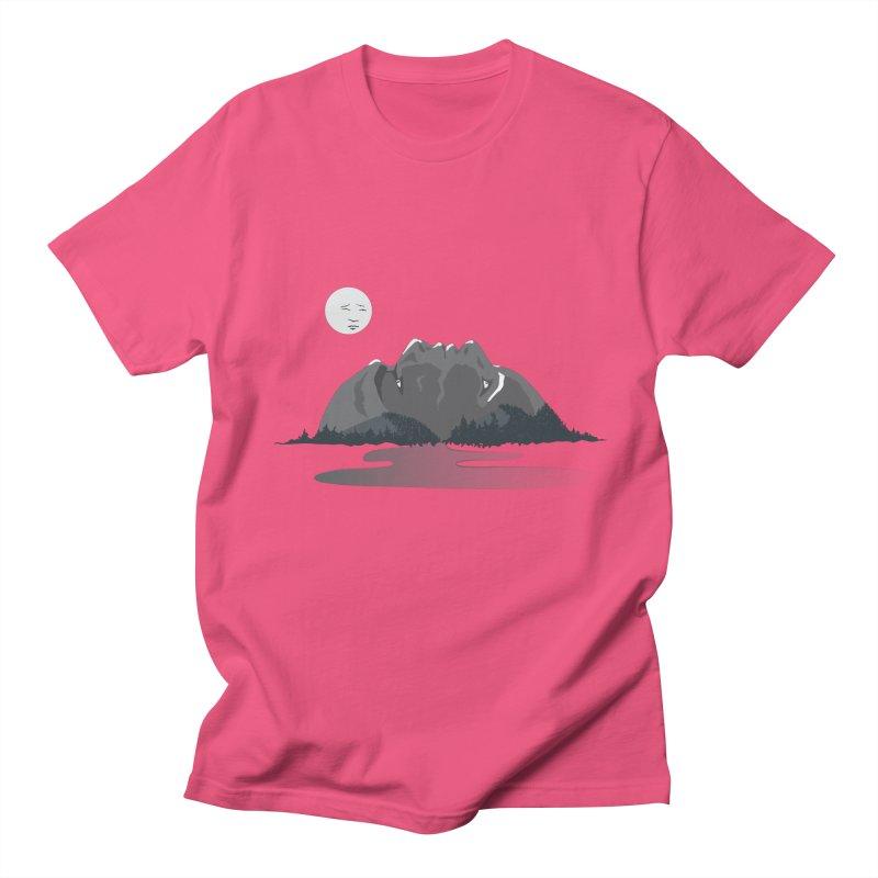 Mountain Faces Women's Unisex T-Shirt by Ambivalentine's Shop