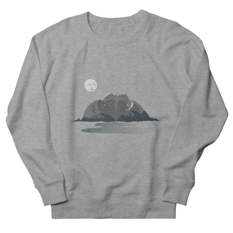 Mountain Faces Women's Sweatshirt by Ambivalentine's Shop
