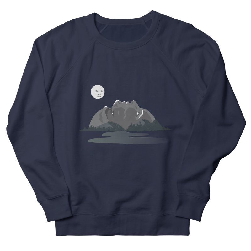 Mountain Faces Women's Sweatshirt by Ambivalentine's Shop