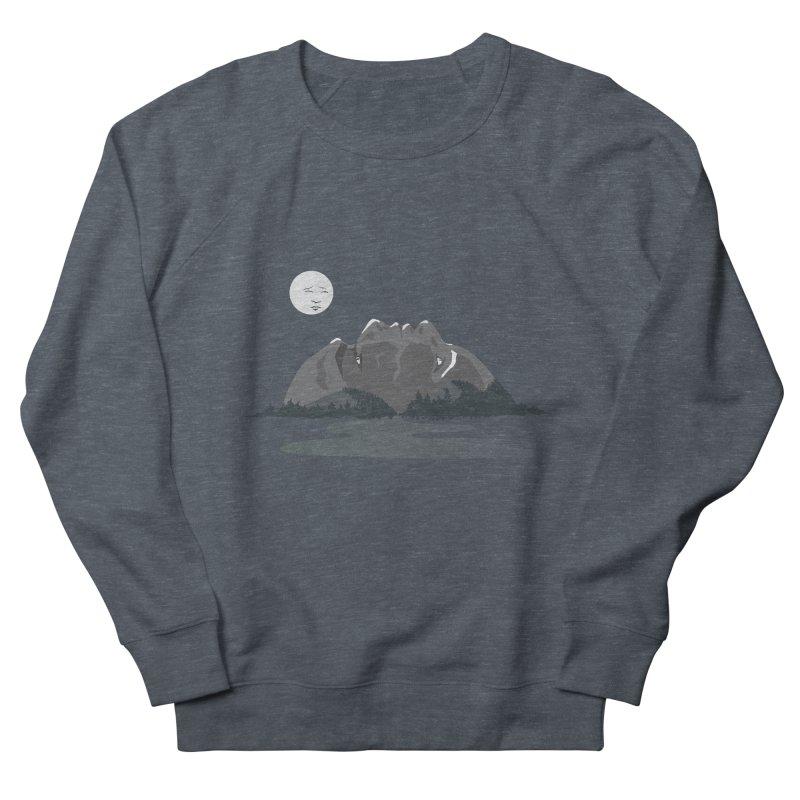 Mountain Faces Men's Sweatshirt by Ambivalentine's Shop