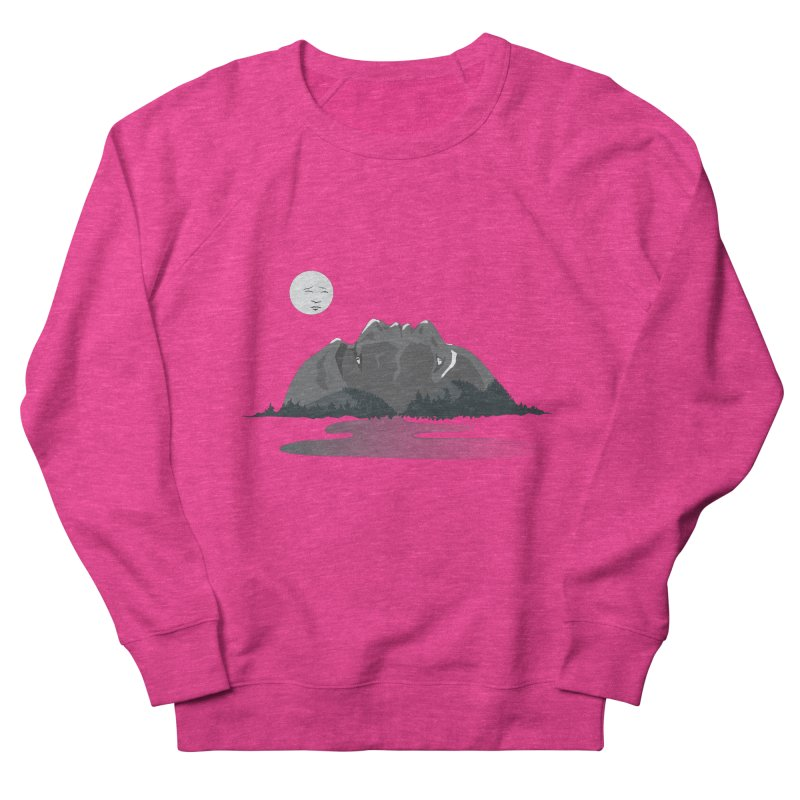 Mountain Faces Men's Sweatshirt by Ambivalentine's Shop