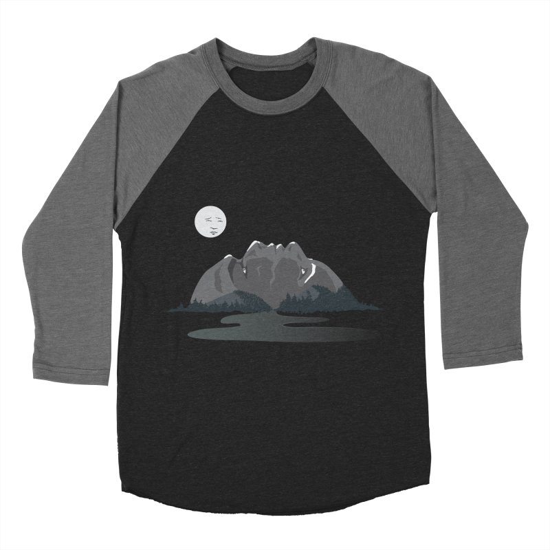 Mountain Faces Women's Baseball Triblend Longsleeve T-Shirt by Ambivalentine's Shop