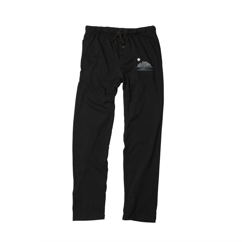 Mountain Faces Men's Lounge Pants by Ambivalentine's Shop