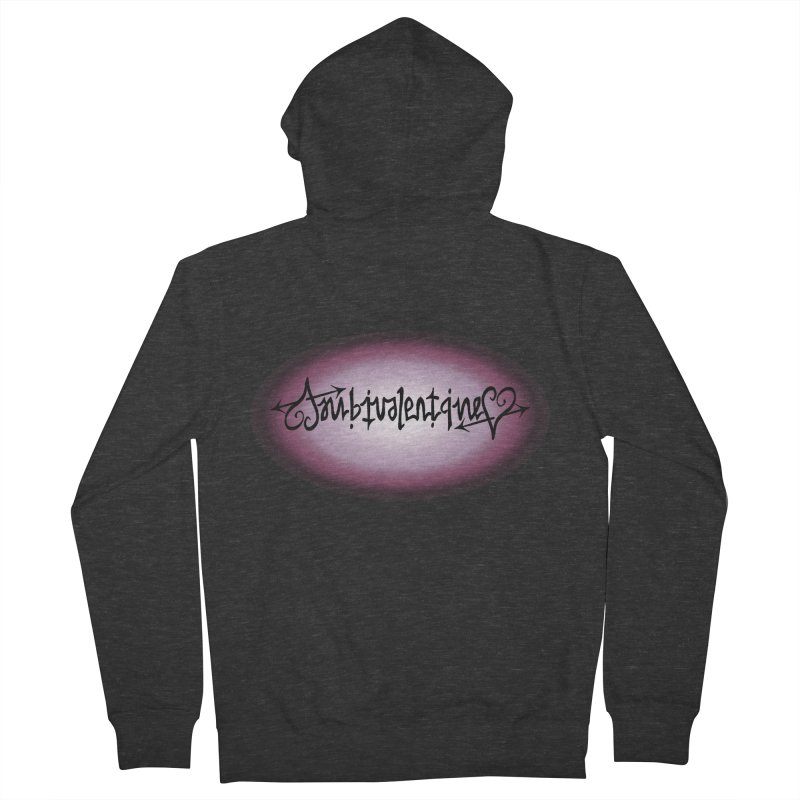 Ambivalentine Women's French Terry Zip-Up Hoody by Ambivalentine's Shop