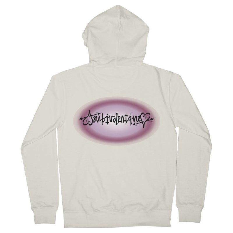 Ambivalentine Women's Zip-Up Hoody by Ambivalentine's Shop