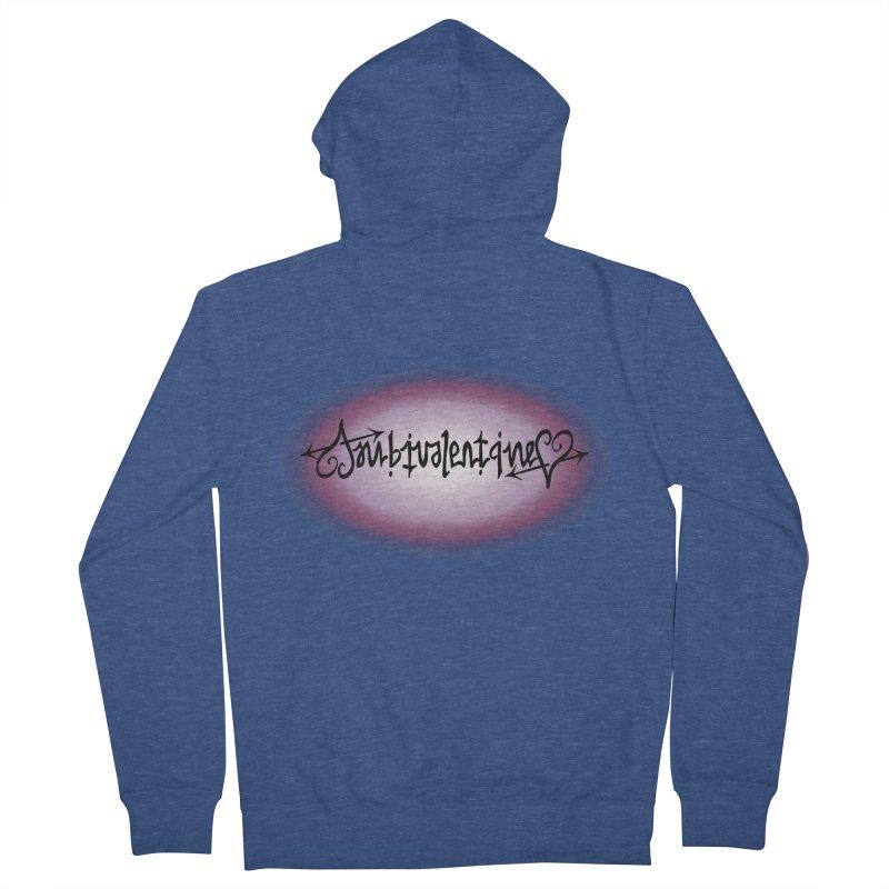 Ambivalentine Men's Zip-Up Hoody by Ambivalentine's Shop