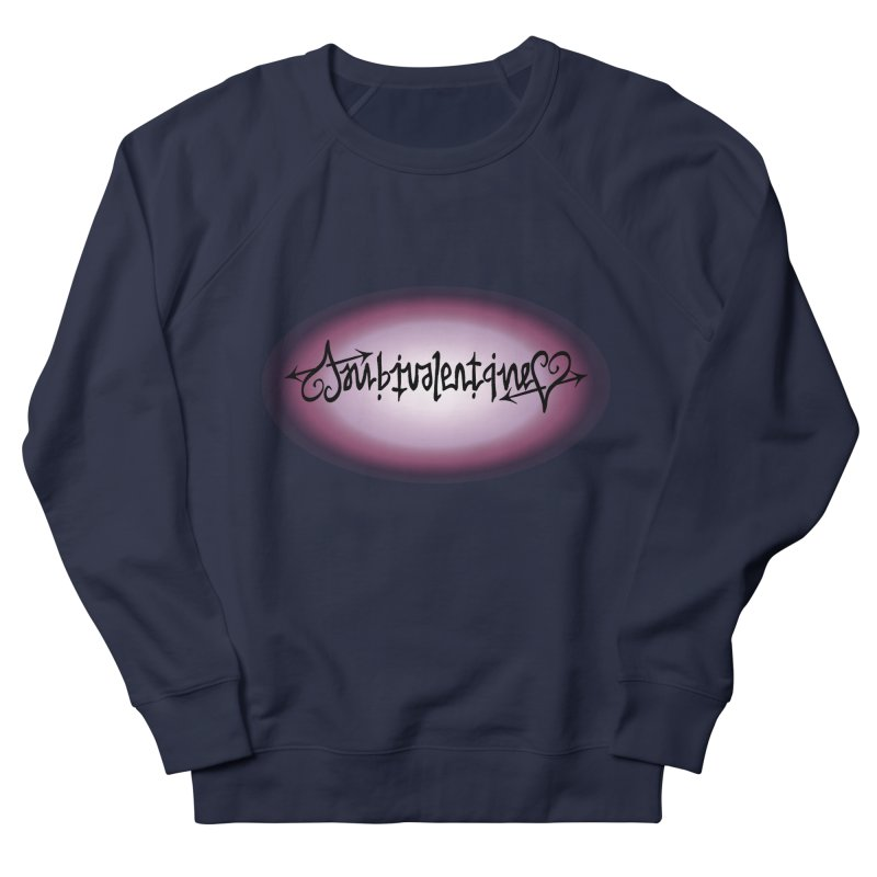 Ambivalentine Women's French Terry Sweatshirt by Ambivalentine's Shop