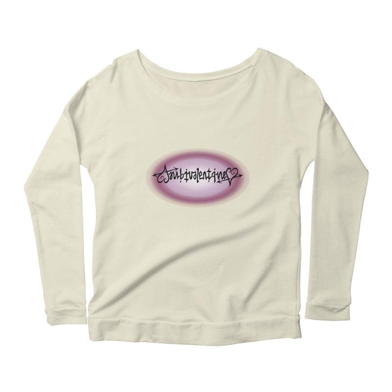 Ambivalentine Women's Scoop Neck Longsleeve T-Shirt by Ambivalentine's Shop