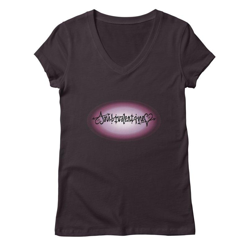 Ambivalentine Women's V-Neck by Ambivalentine's Shop