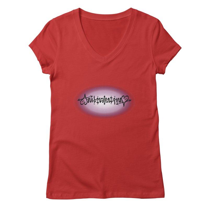 Ambivalentine Women's Regular V-Neck by Ambivalentine's Shop