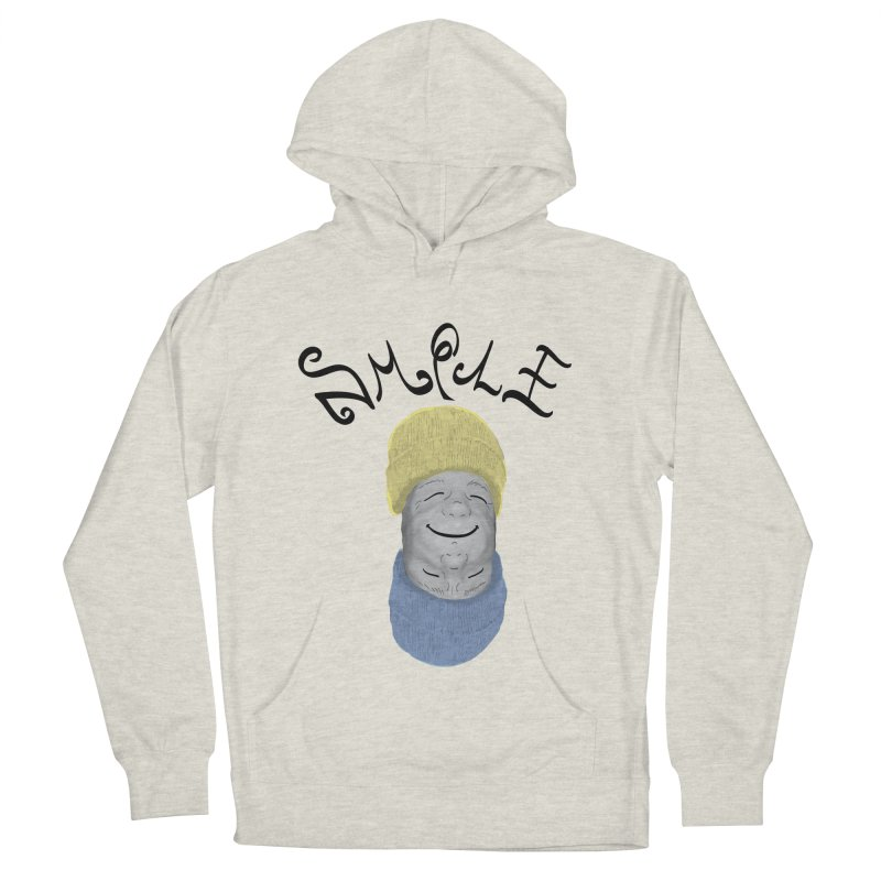 Frown Upside Down! Men's French Terry Pullover Hoody by Ambivalentine's Shop