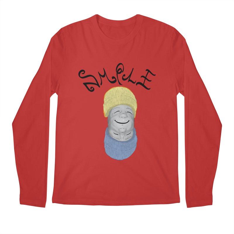 Frown Upside Down! Men's Regular Longsleeve T-Shirt by Ambivalentine's Shop