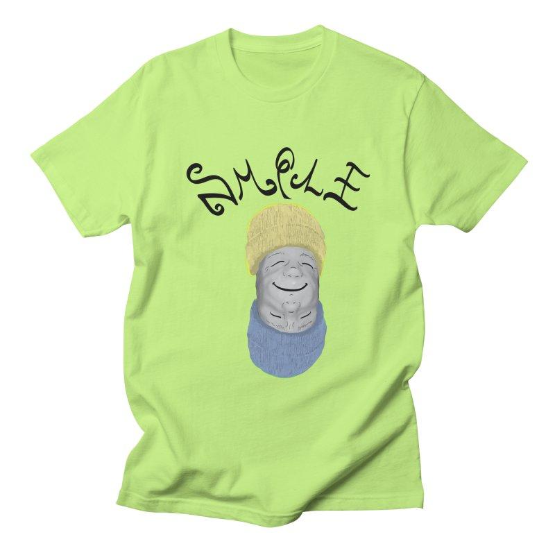 Frown Upside Down! Men's Regular T-Shirt by Ambivalentine's Shop