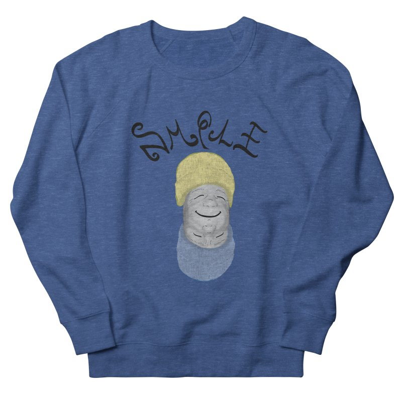 Frown Upside Down! Women's French Terry Sweatshirt by Ambivalentine's Shop