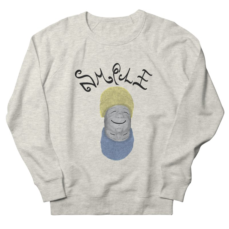 Frown Upside Down! Men's French Terry Sweatshirt by Ambivalentine's Shop