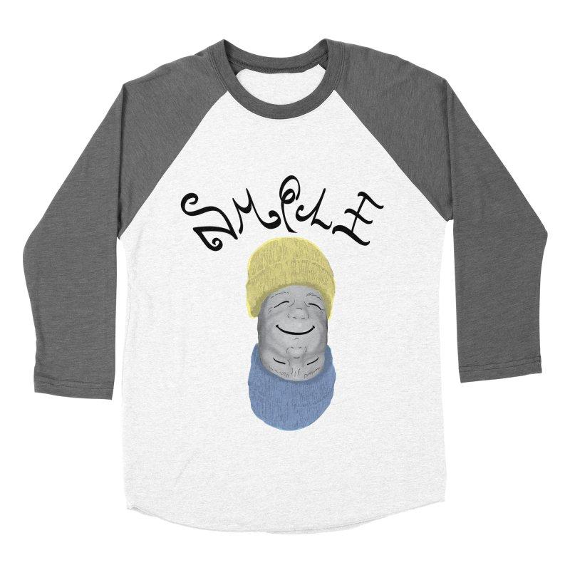 Frown Upside Down! Men's Baseball Triblend Longsleeve T-Shirt by Ambivalentine's Shop