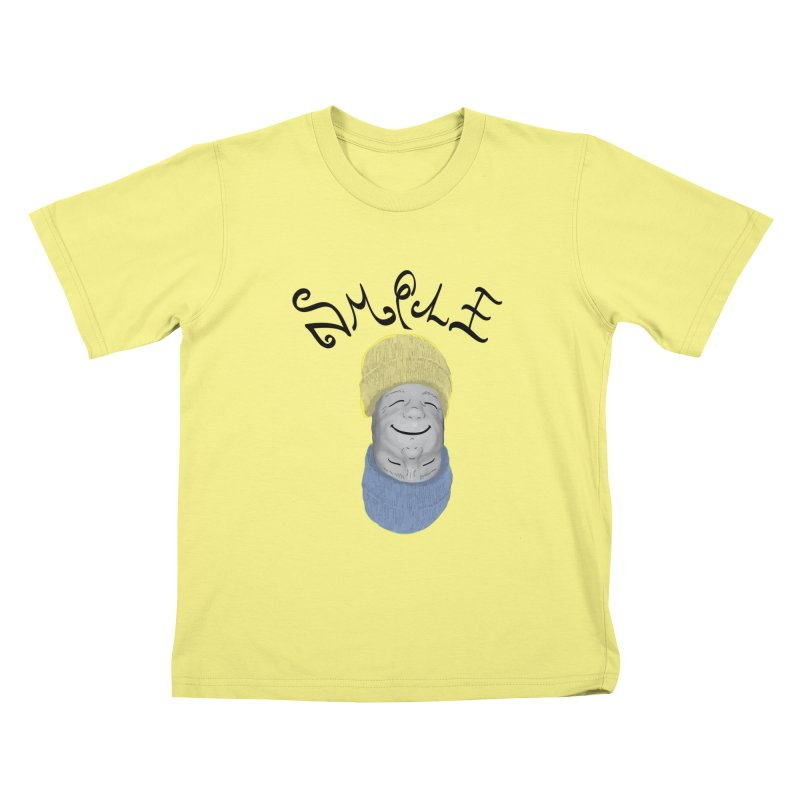 Frown Upside Down! Kids T-shirt by Ambivalentine's Shop