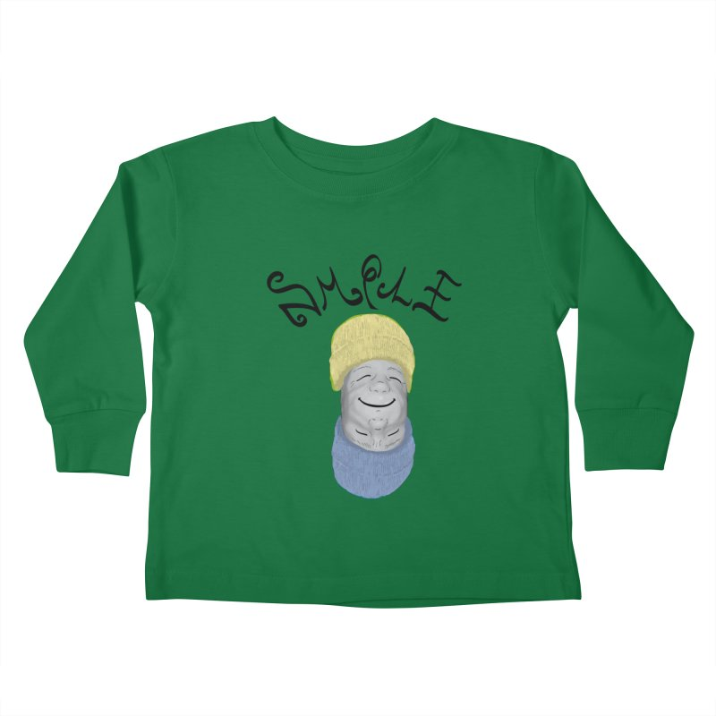 Frown Upside Down! Kids Toddler Longsleeve T-Shirt by Ambivalentine's Shop