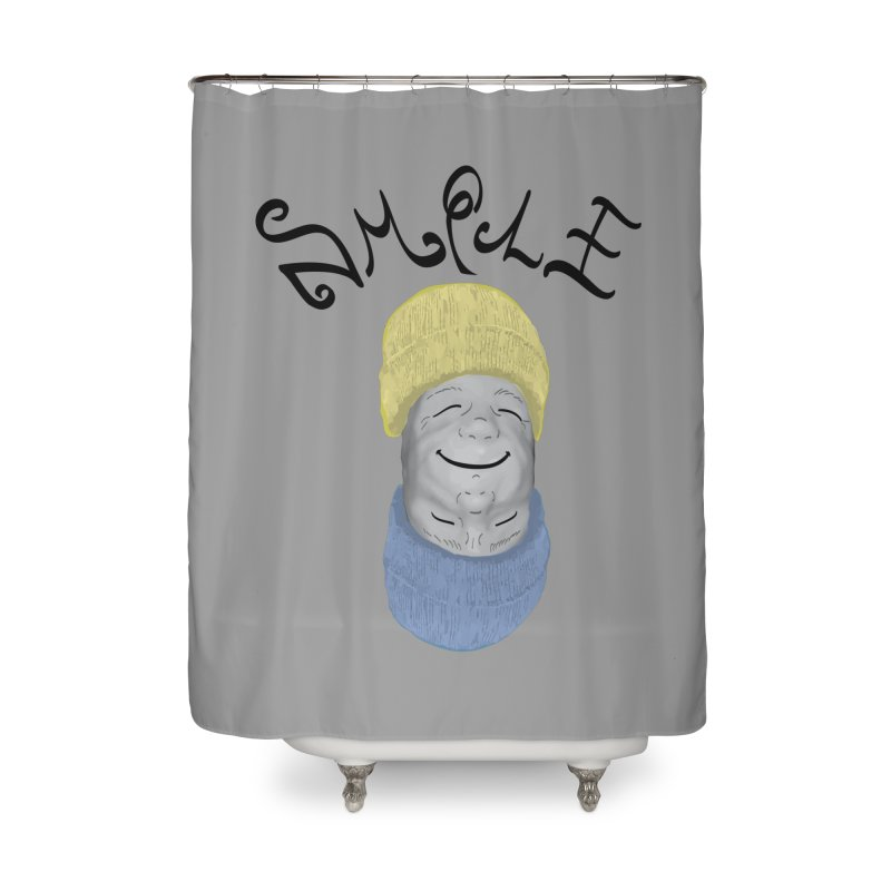 Frown Upside Down! Home Shower Curtain by Ambivalentine's Shop