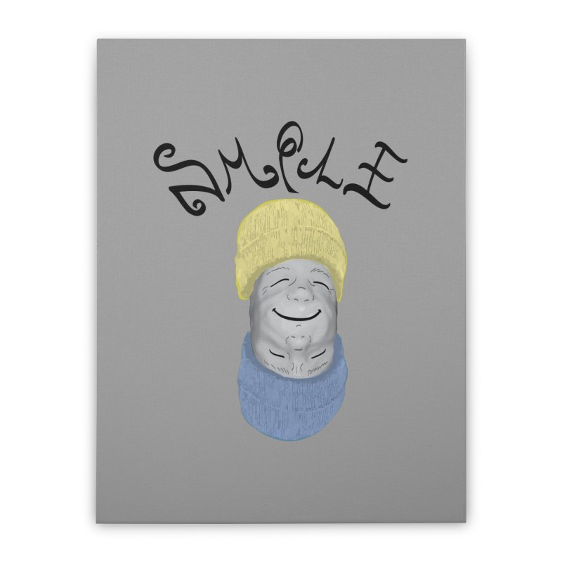 Frown Upside Down! Home Stretched Canvas by Ambivalentine's Shop