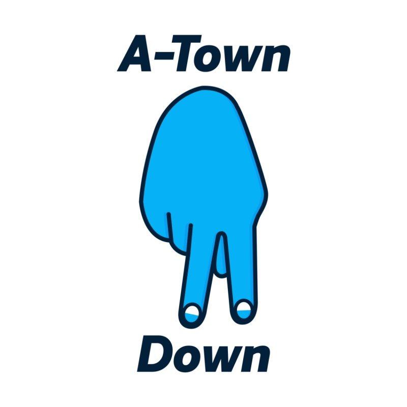 A-Town Down Kids Toddler Longsleeve T-Shirt by