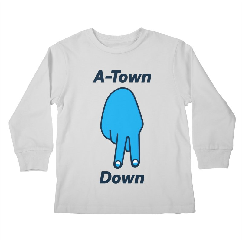A-Town Down Kids Longsleeve T-Shirt by