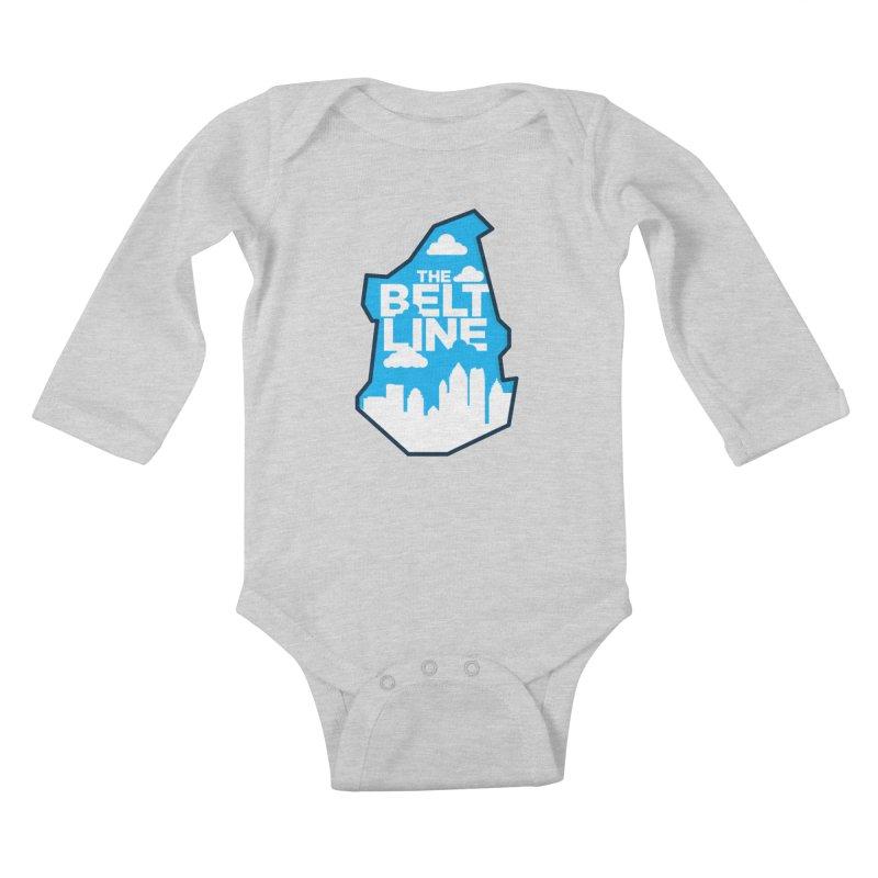 Atlanta Beltline Kids Baby Longsleeve Bodysuit by
