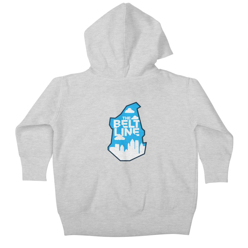 Atlanta Beltline Kids Baby Zip-Up Hoody by