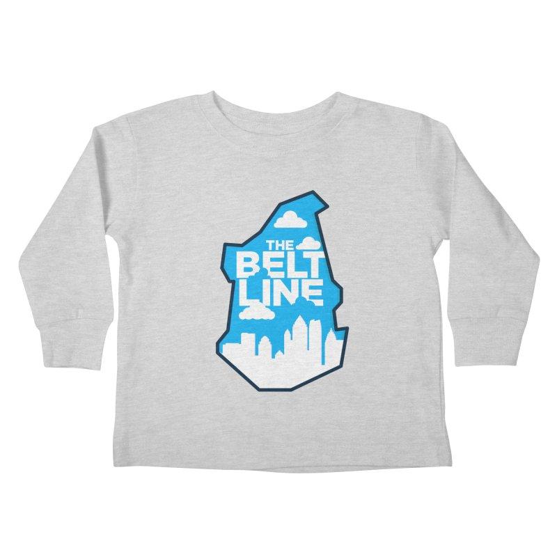 Atlanta Beltline Kids Toddler Longsleeve T-Shirt by