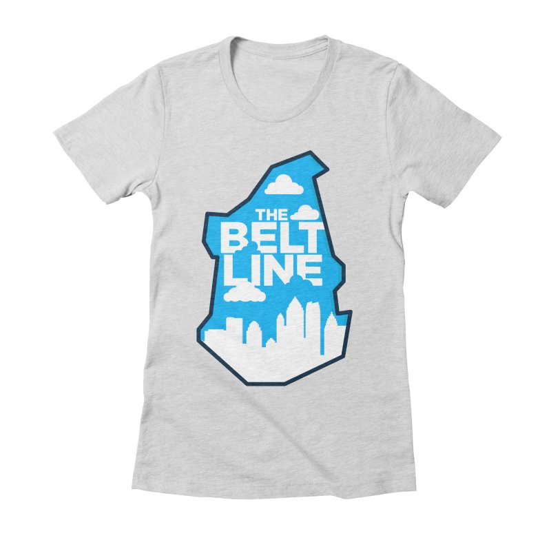 Atlanta Beltline Women's Fitted T-Shirt by