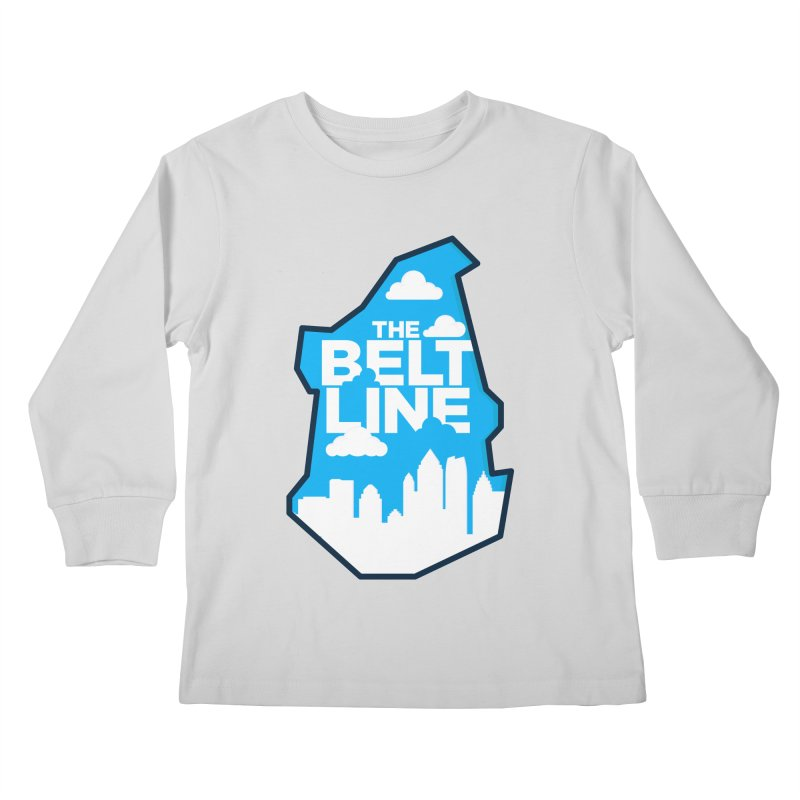 Atlanta Beltline Kids Longsleeve T-Shirt by