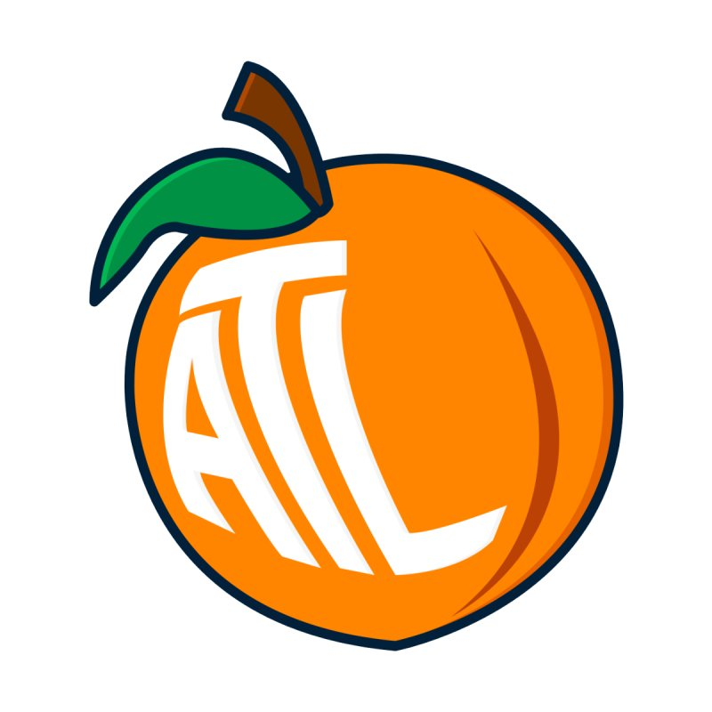 ATL Peach Emoji by