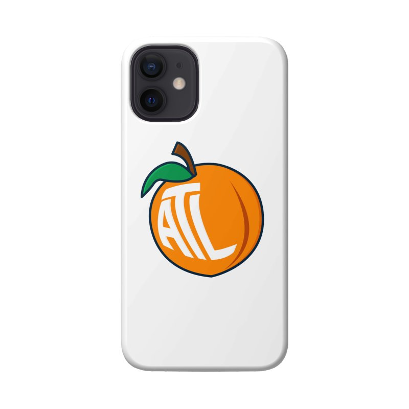 ATL Peach Emoji Accessories Phone Case by