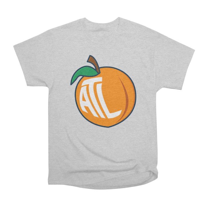 ATL Peach Emoji Women's Heavyweight Unisex T-Shirt by